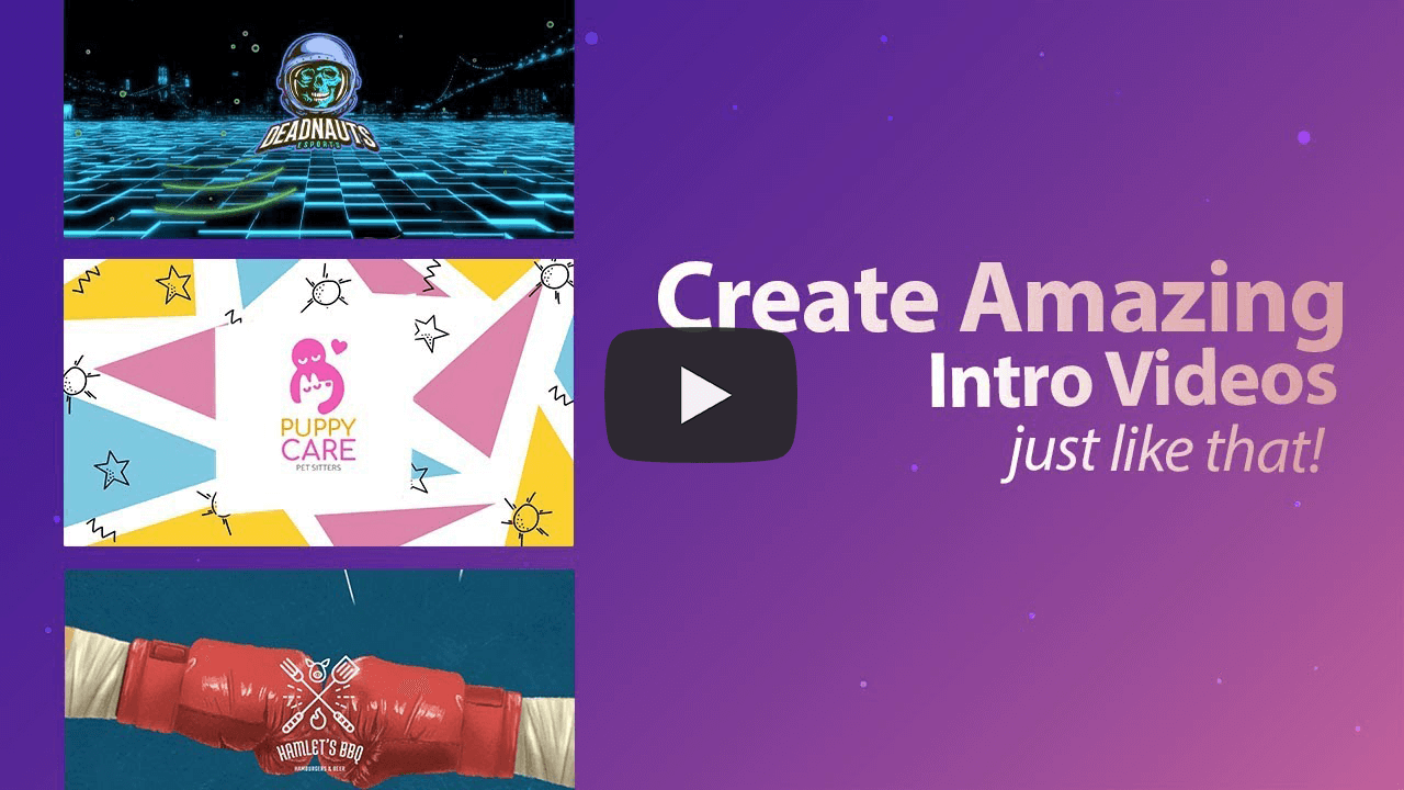 Create Amazing Intro Videos