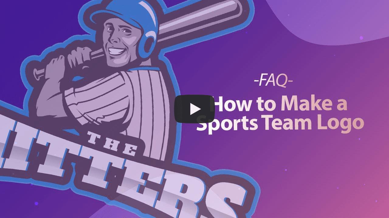 How To Make A Sports Team Logo