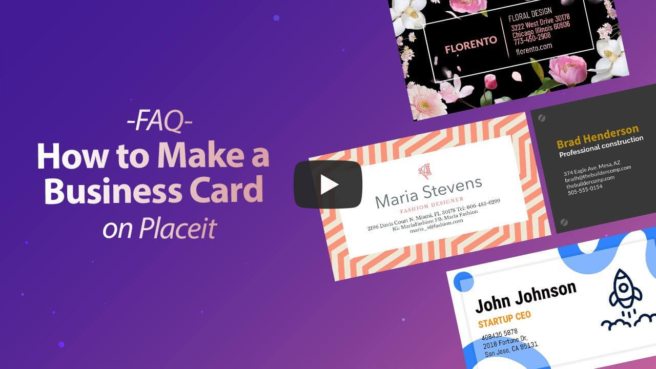 How To Make Business Card