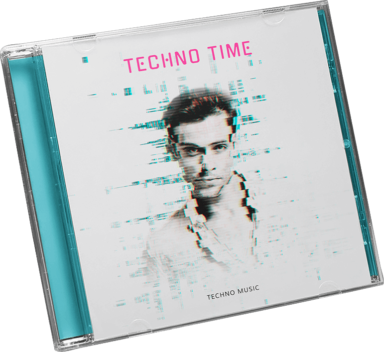 Techno Album Cover Maker