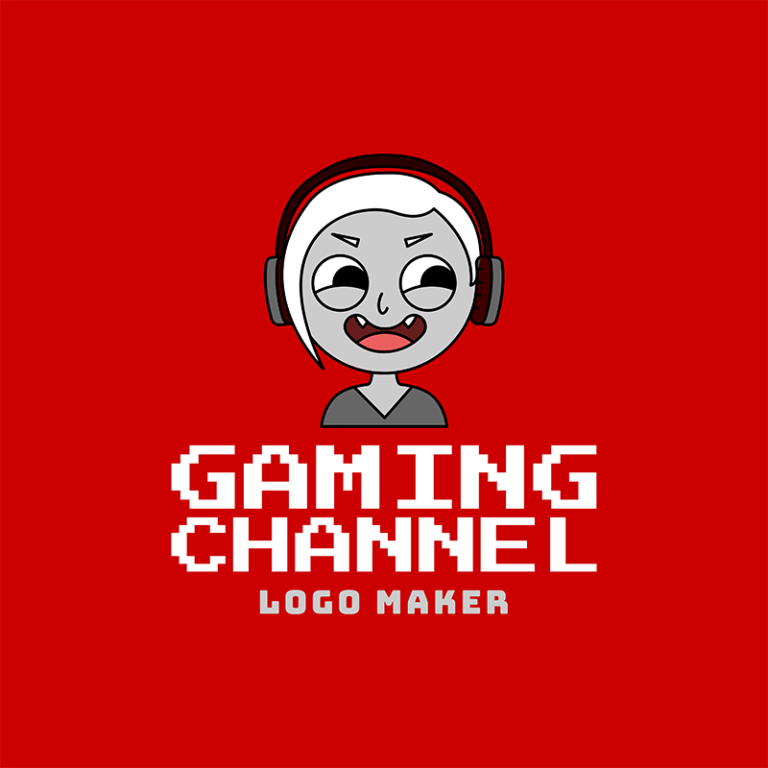 Gaming Channel Avatar Logo Maker 1458a
