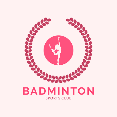 Badminton Logo Maker For A Women S Sports Club 1632e