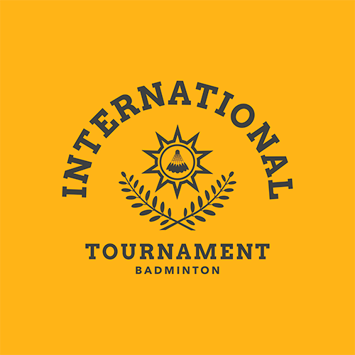 Badminton Logo Maker For An International Badminton Tournament 1631a