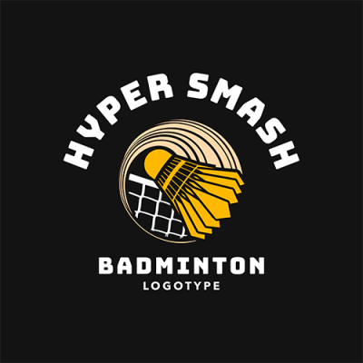 Badminton Logo Maker For Pro Badminton Teams 1631c