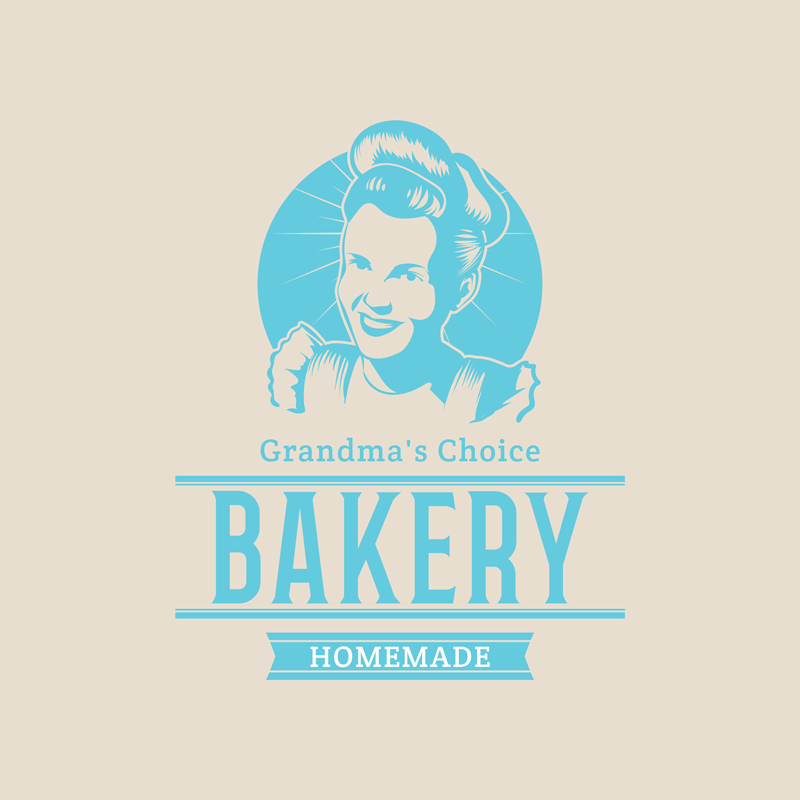Bakery Logo Maker Illustration