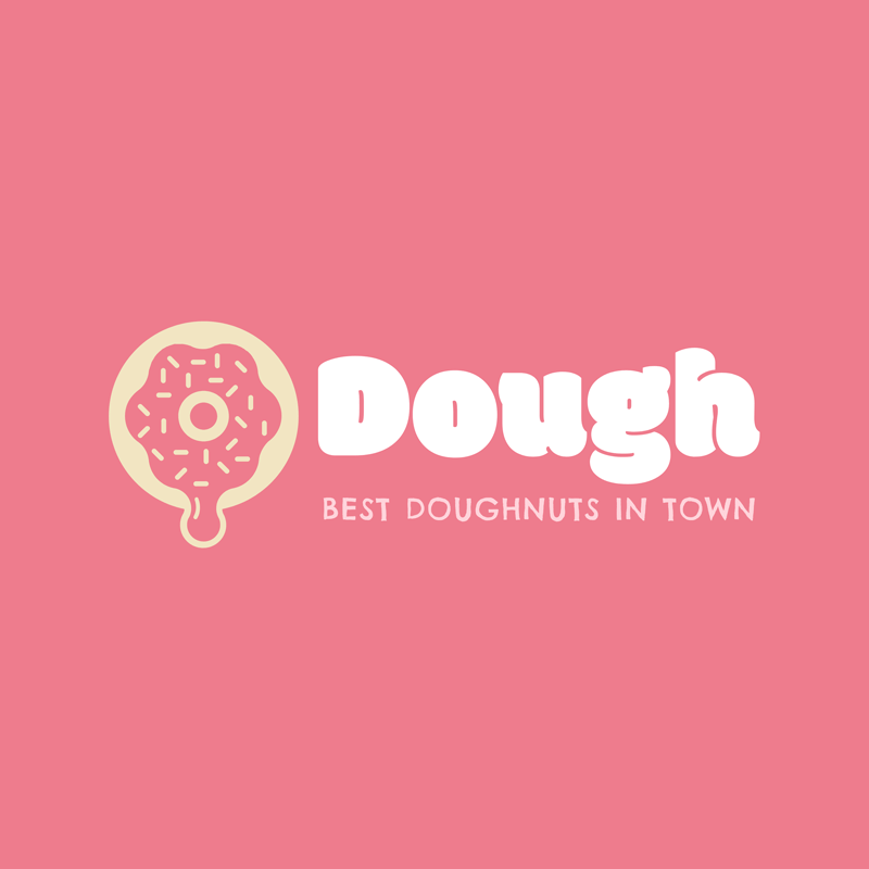Logo Template For Donut Shops