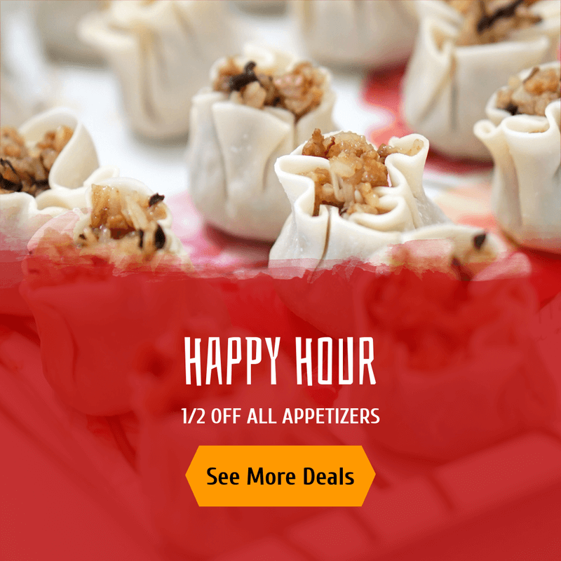 Happy Hour Banner Maker For Chinese Food Restaurants