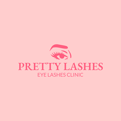 Custom Logo Maker For Eyelashes Beauty Salon 1176c