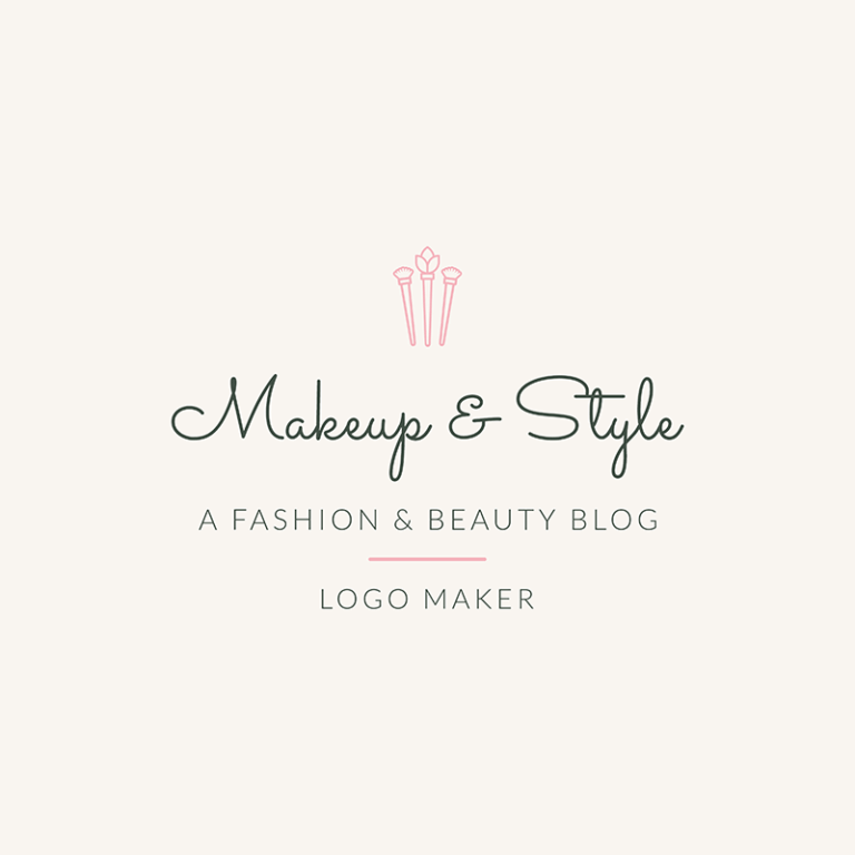 Fashion Logo Maker For Fashion And Beauty Blog 1408c