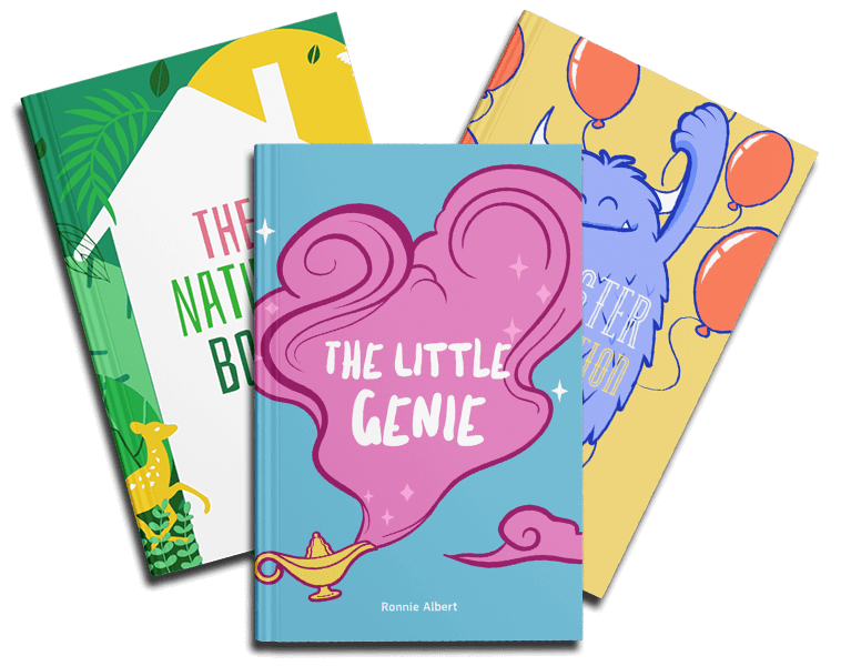 Book Cover Maker For Childrens Book Covers Featuring Colorful Designs