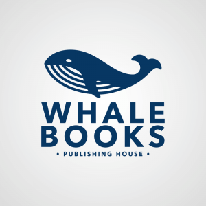 Custom Logo Maker For Publishing Houses With Whale Icons