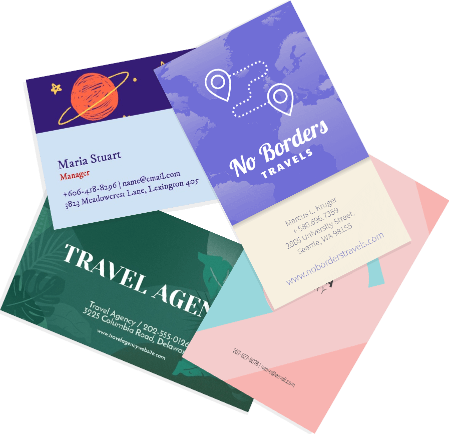 Business Card Designs Header Image