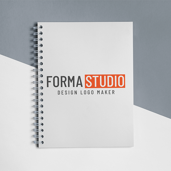Frontal Shot Template Of A Spiral Notebook Lying On A Bicolor Surface A15308 Copy