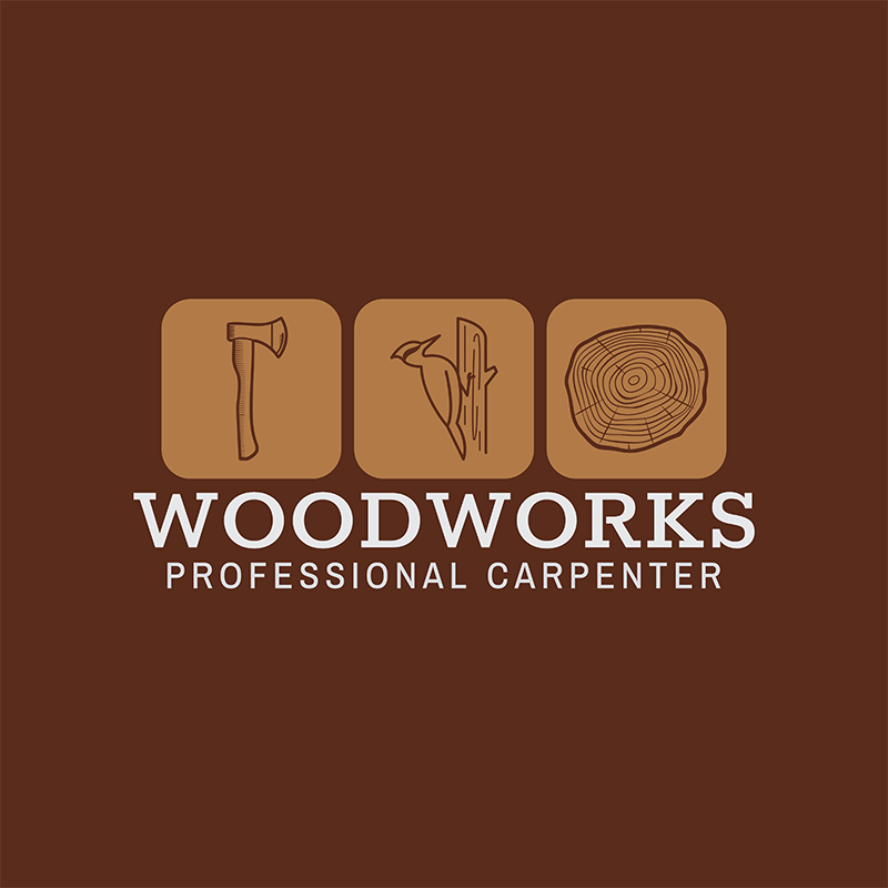 Carpentry Logo Creator For Woodworks