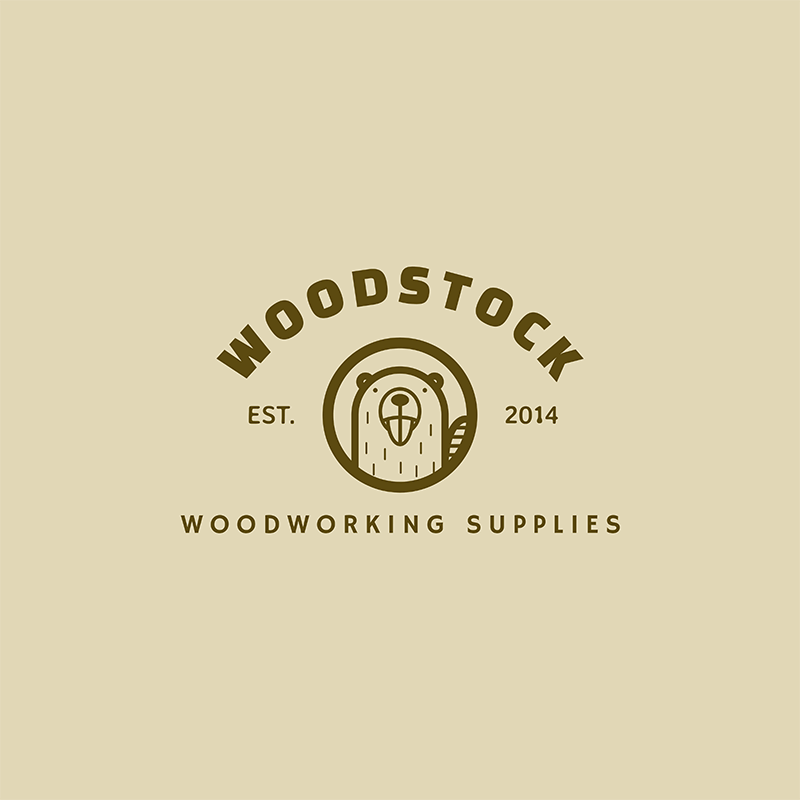 Woodwork Logo Maker For A Woodworking Supplies Company
