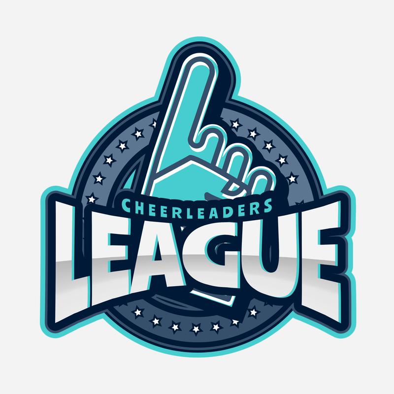 Cheer Logo Maker For A Cheerleading League