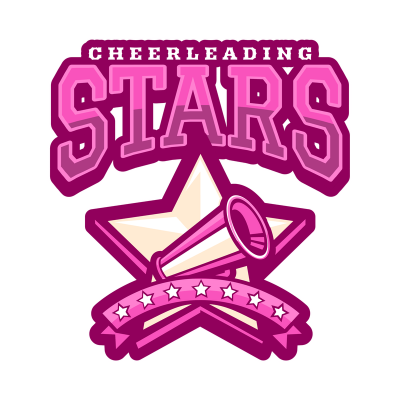 Cheerleader Logo Maker With Star Clipart