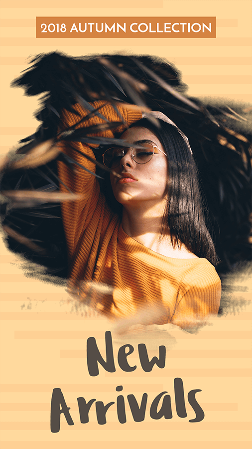 Clothing Brand S New Arrivals For Instagram Story Template 593