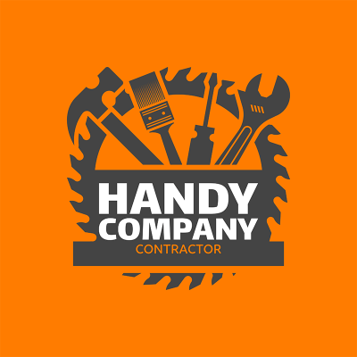Contractor Logo Maker With Tool Icons