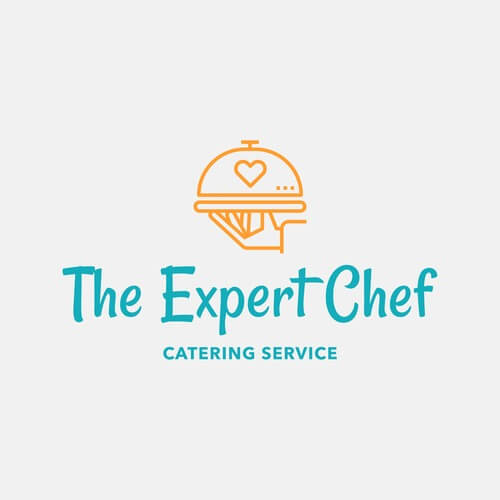 Catering Logo Maker With Food Graphics