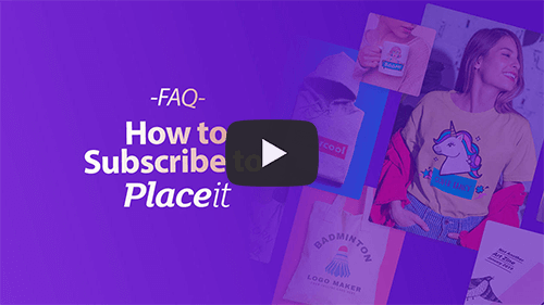 Faq Video Thumbnail Subscribe To Placeit