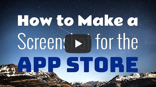 How To Make Screenshot For The App Store