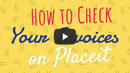How To Check Your Invoices On Placeit