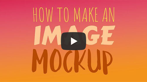 How To Make An Image Mockup