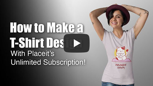 How To Make T Shirt Desings With Placeits Unlimited Subscription