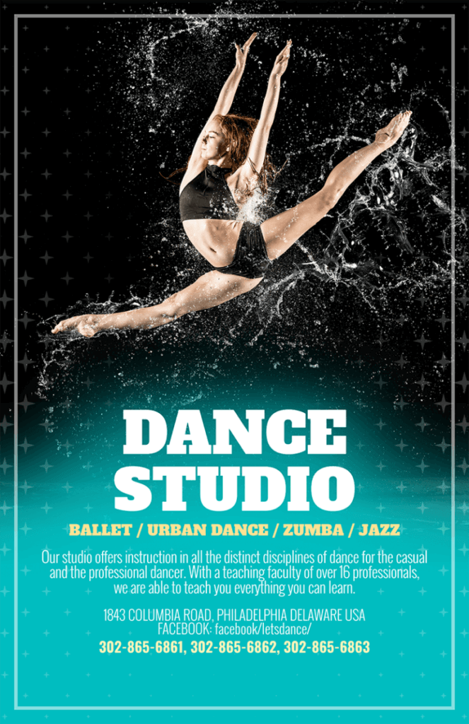 Dance Studio Flyer 768x1187