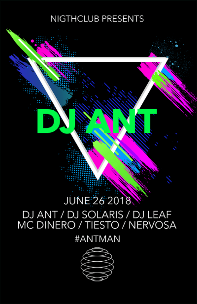 Dj Party Dance Flyer 768x1187