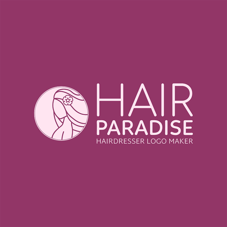 Beauty Hair Service Logo Maker