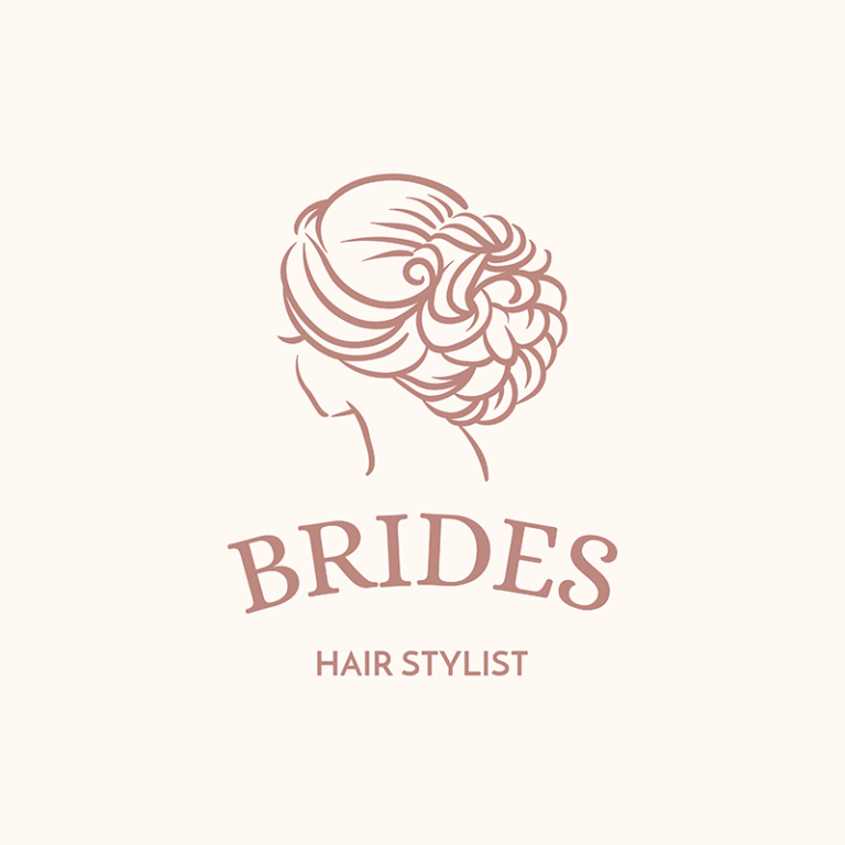 Logo Maker For Bridal Makeup Artists And Hairdressers