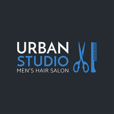 Men S Hair Salon Logo Maker 1470c
