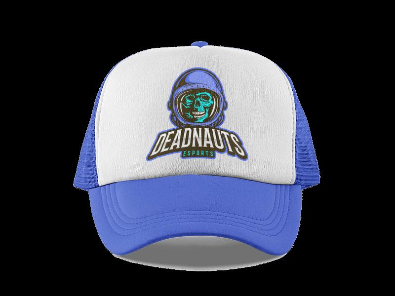 Deadnauts Trucker Hat Mockup Hat Landing Page
