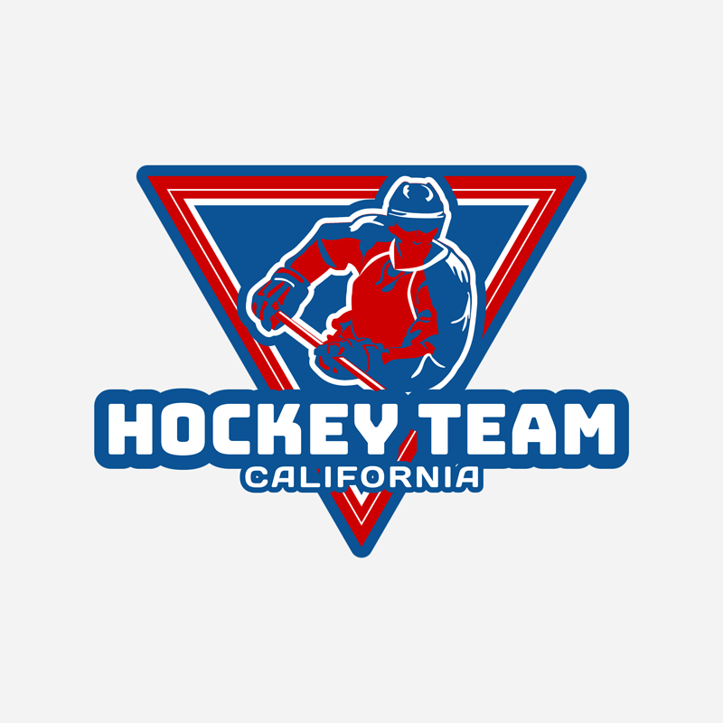 Ice Hockey Logo Maker Player