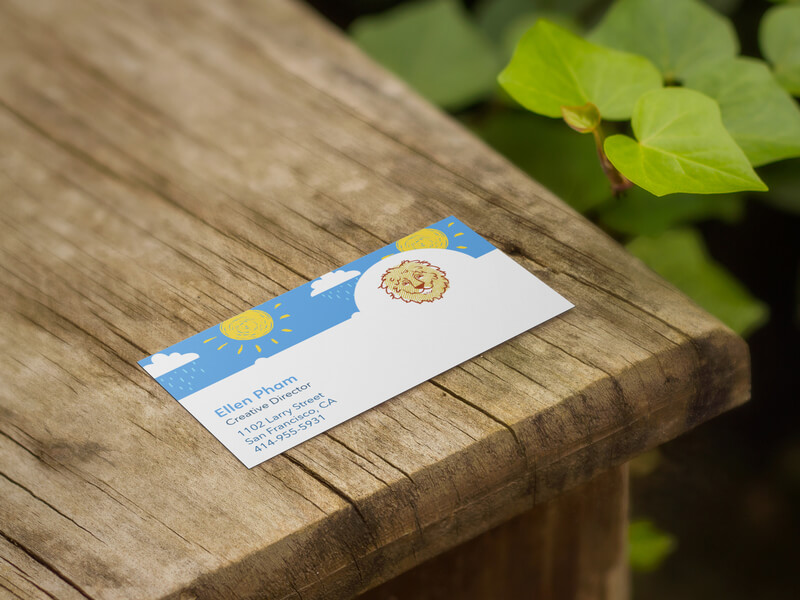 Business Card Maker For Kids Clothing Brands