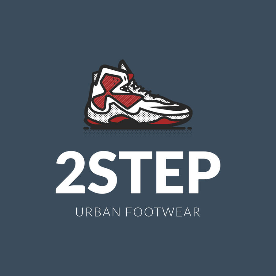 Relevant Clothing Brand Logo For Sneaker Store
