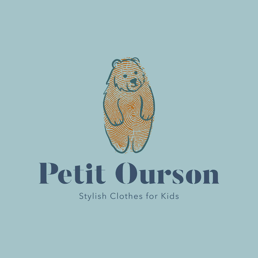Unique Clothing Brand Logo