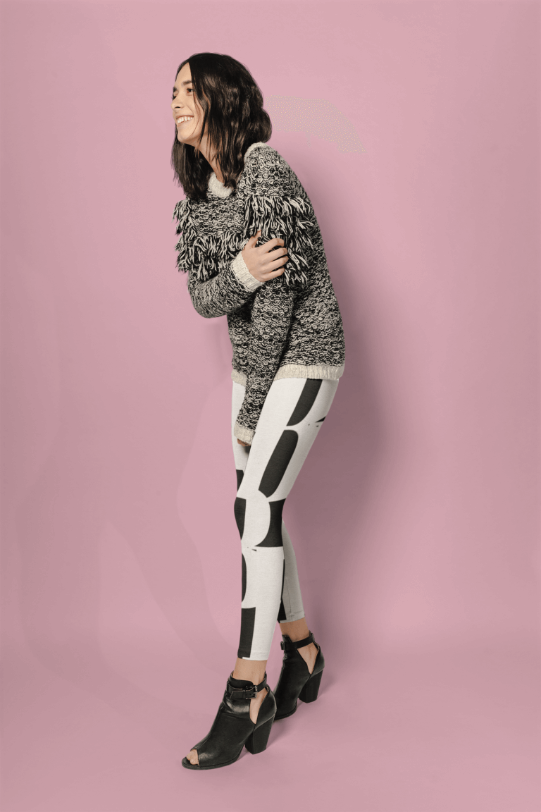 Leggings Mockup Of A Girl Smiling At A Photo Studio A19140 Copy 2