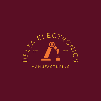 Logo Maker For A Manufacturing Company