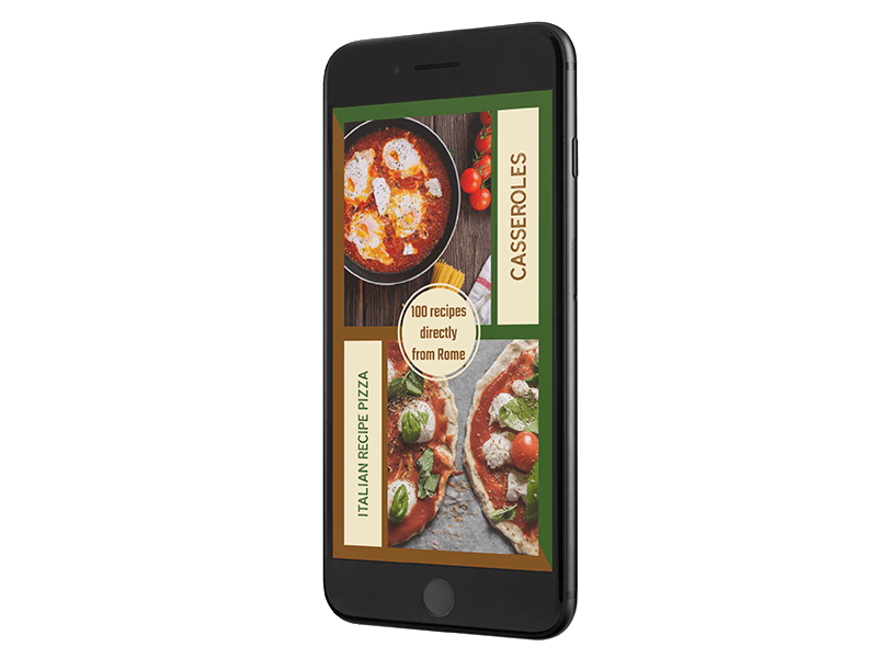 Iphone 7 Mockup With Restaurant Ad