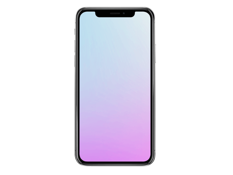 Transparent Iphone X Mockup