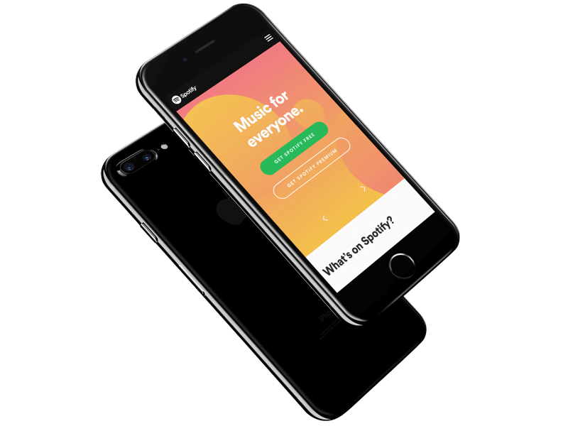 Create iPhone 8 Mockups | iPhone Mockups | Placeit