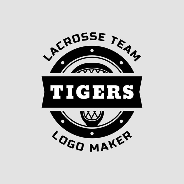 Lacrosse Logo Generator For A Lacrosse Team 1593