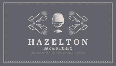 Bar Business Card