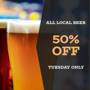 Online Ad For Artisinal Beer