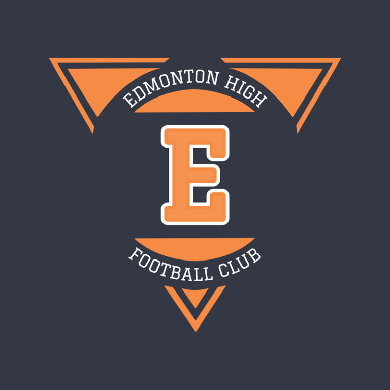 High School Football Logo