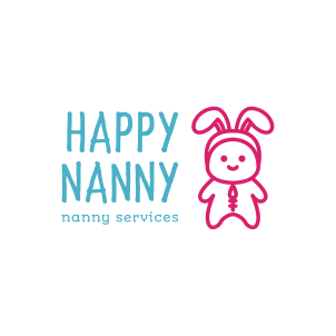 Happy Nanny Logo Maker 01