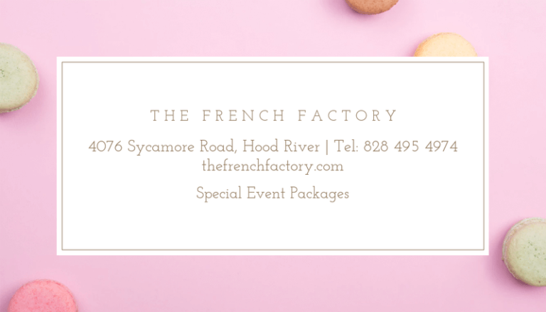 French Bakery Business Card Maker